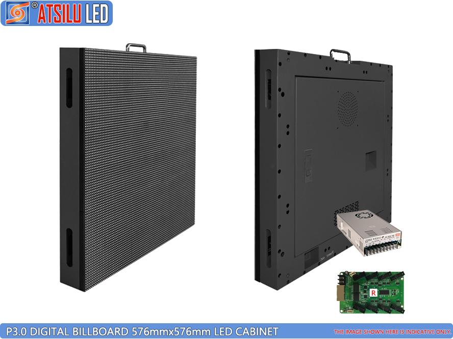 P3mm digitale billboard LED-kast