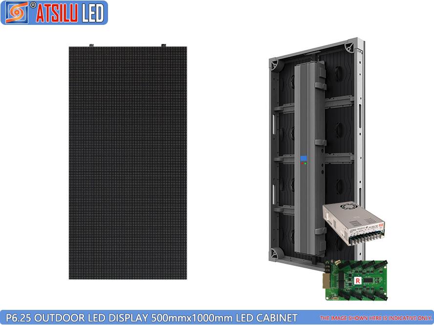 P6.25mm شاشة LED الخارجية للإيجار LED